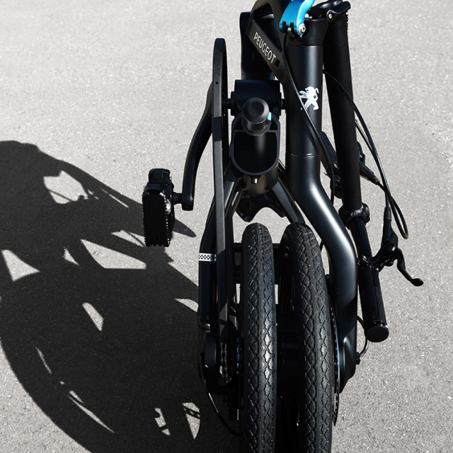 Electric folding bike Peugeot