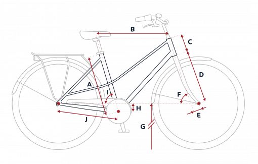 Peugeot LC01 city bike geometry