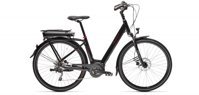 Electric city bike Peugeot eC01 D10