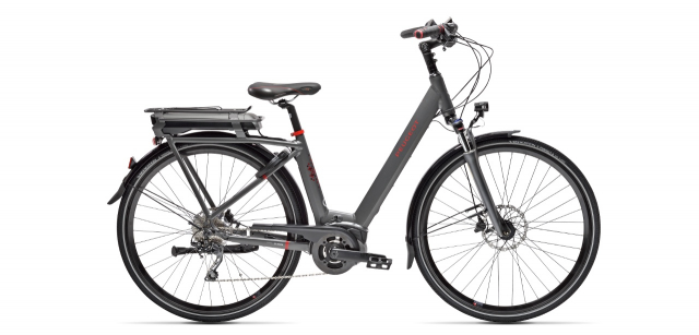 Electric city bike Peugeot eC01 D10 Plus