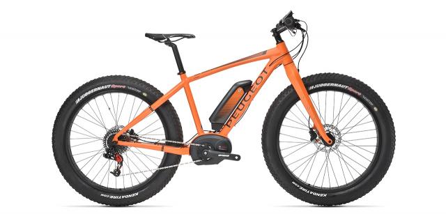 Electric Fat bike Peugeot eFB01