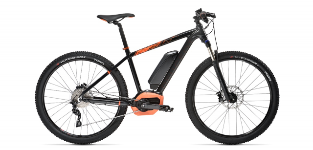 Electric mountain bike Peugeot eM02 27,5 SLX 10 2017