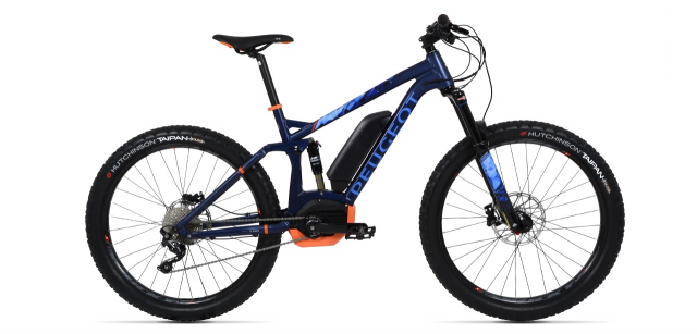 Electric mountain bike Peugeot eM02 FS 27.5+ SLX 10