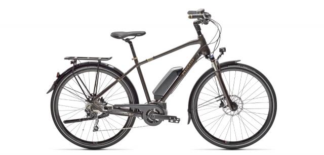 electric trekking bike Peugeot eT01 D10