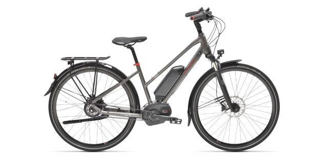Mixte electric trekking bike Peugeot eT01 Nuvinci