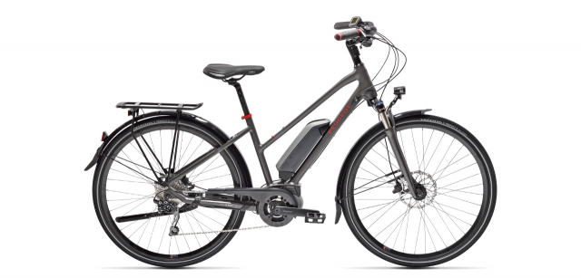 Mixte electric trekking bike  Peugeot eT01 D10