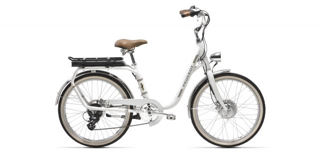 Vélo vintage ville électrique Peugeot eLegend eLC01