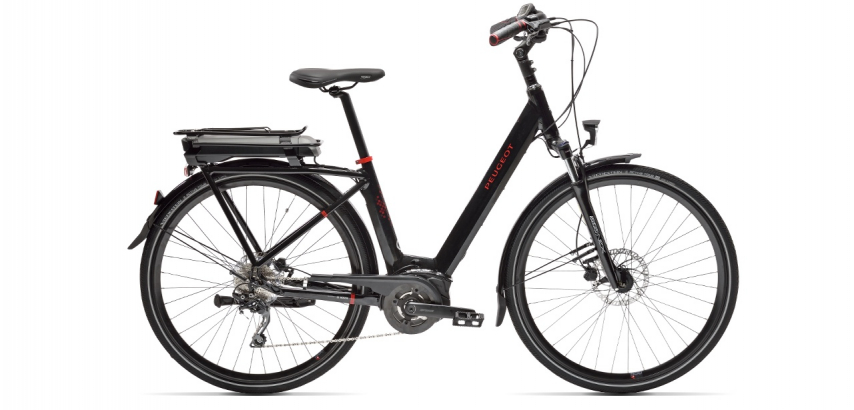 Electric city bike Peugeot eC01 Deore