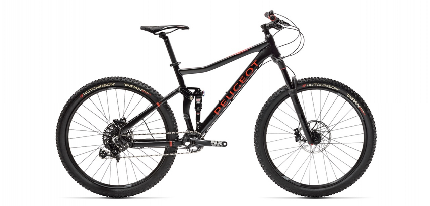 Full suspension MTB Peugeot M03 FS NX 11
