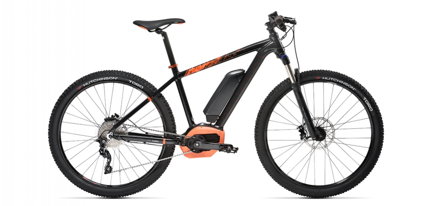Electric mountain bike Peugeot eM02 27,5 SLX 10