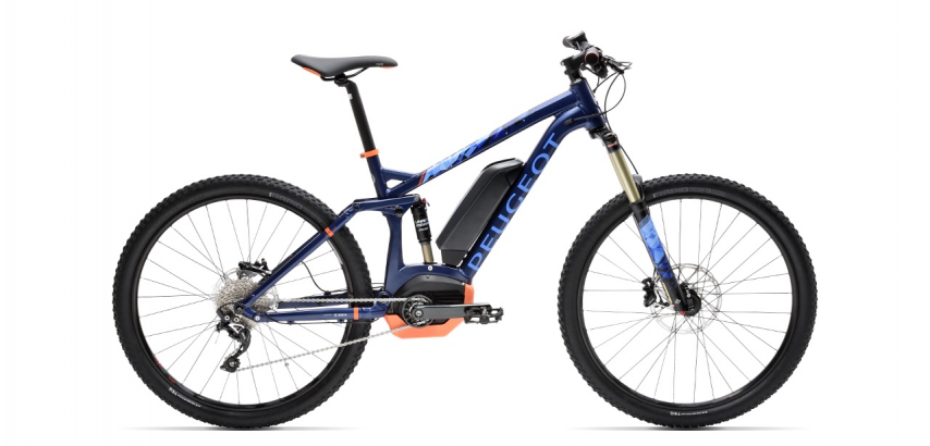 Electric mountain bikes Peugeot eM02 FS SLX 10