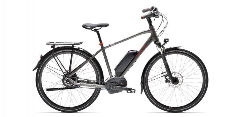 Electric trekking bike Peugeot eT01 Nuvinci