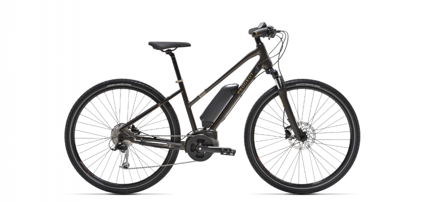 Mixte electric trekking bike Peugeot eT01 Sport