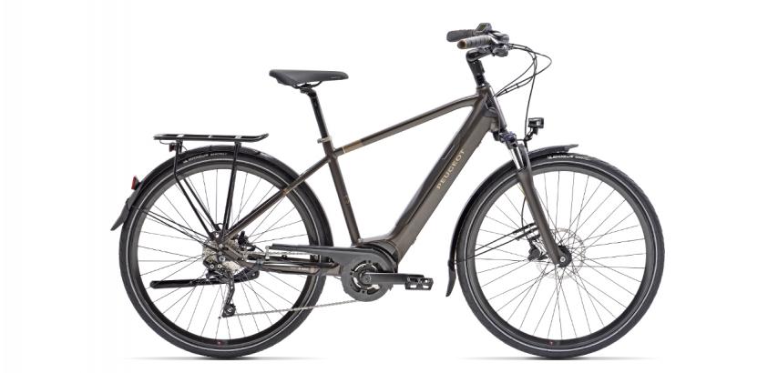 Vélo tout chemin électrique Peugeot à batterie intégrée eT01 D10